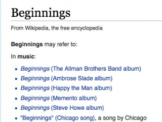 Image: Wikipedia 'Beginnings'