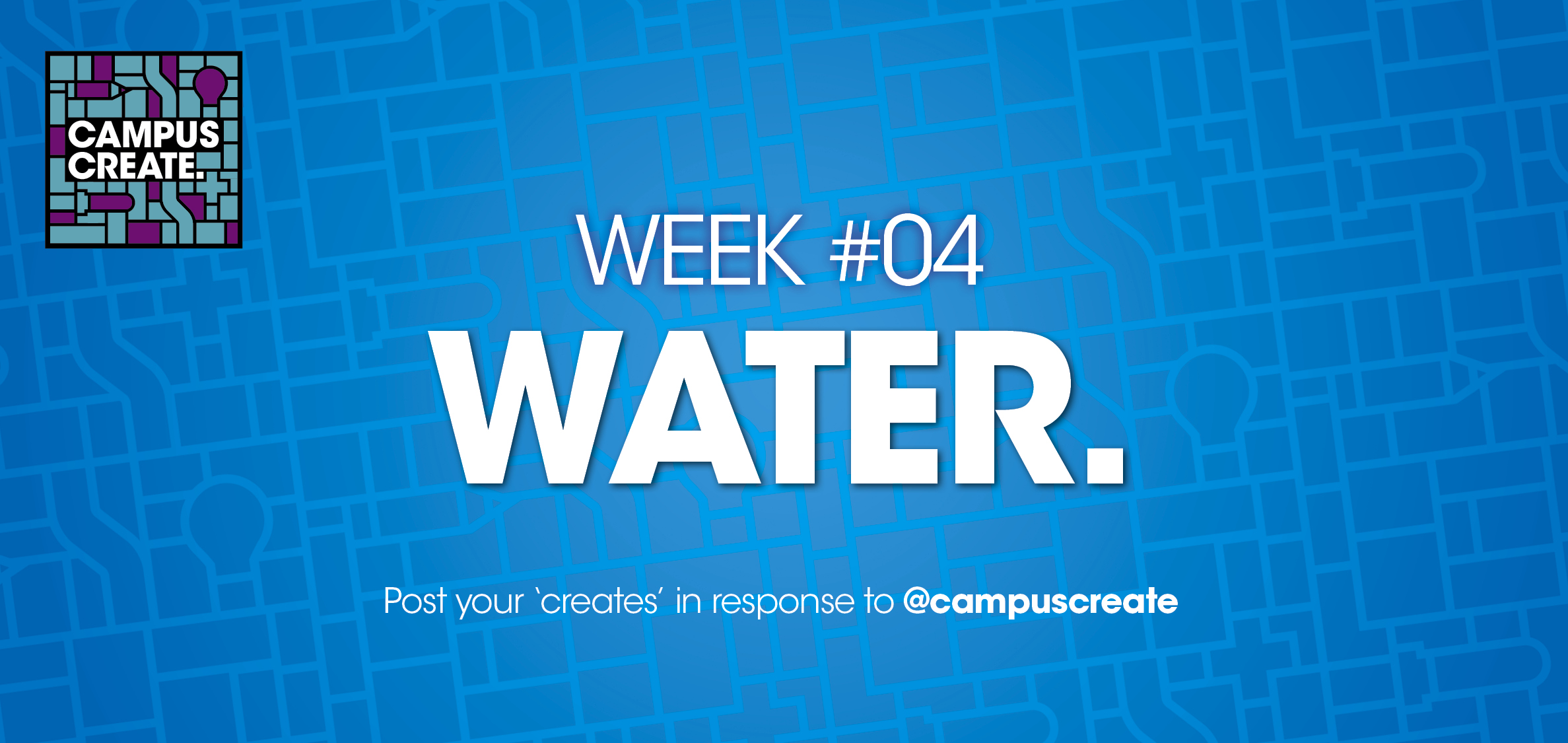 Campus Create Web Banner Water