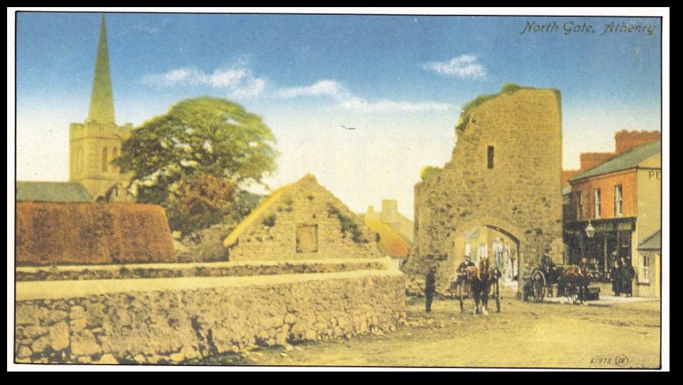 Athenry postcard